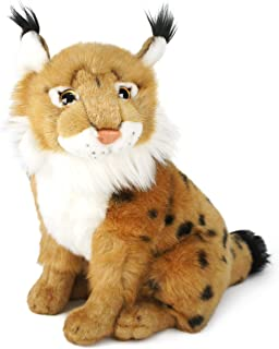 VIAHART Linus The Lynx | 12 Inch Stuffed Animal Plush | by Tiger Tale Toys
