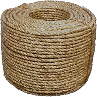 T.W Evans Cordage 30-067 3/4-Inch by 300-Feet Pure Number-1 Manila Rope