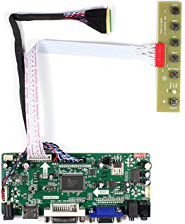 """HDMI+VGA+DVI+Audio Input LCD Controller Board for LP173WD1 N173FGE 15.6"""" 17.3"""" 1600x900 LED Backlight 40Pins LCD Panel"""
