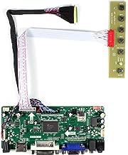 VSDISPLAY HDMI VGA DVI Audio LCD Controller Board for 15.6 17.3 inch 1920x1080 LED Backlight 40pin LVDS LCD: B156HW01 V0 V4 V7 B156HW02 LP156WF1 N156HGE LP173WF1 N173HGE HSD173UHW1 B173HW01