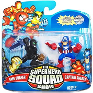 Hasbro Super Hero Squad 21: Dark Surfer & Captain America