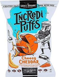 IncrediPuffs Cheesy Cheddar Certified Gluten Free, Non Gmo, 6 oz