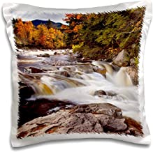 ZninesOnhOLD Swift River Rapids, Conway, New Hampshire, Use Us30 Bjn0004 Brian Janssen Pillow Case, 18