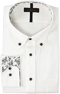 [スティングロード] デザインワイシャツ ボタンダウン 形態安定 長袖 D484MR-1P メンズ