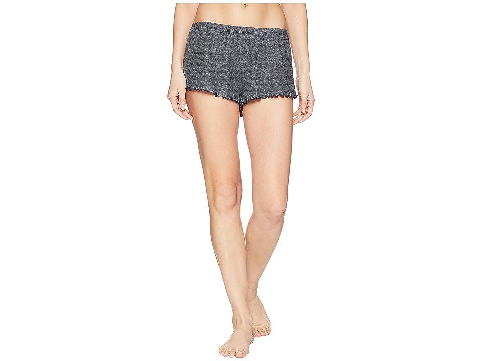 Skin Michaela Shorts (Navy Stripe) Women