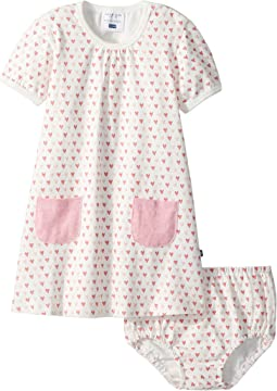 Toobydoo Sweet Hearts Pocket Dress (Infant/Toddler)
