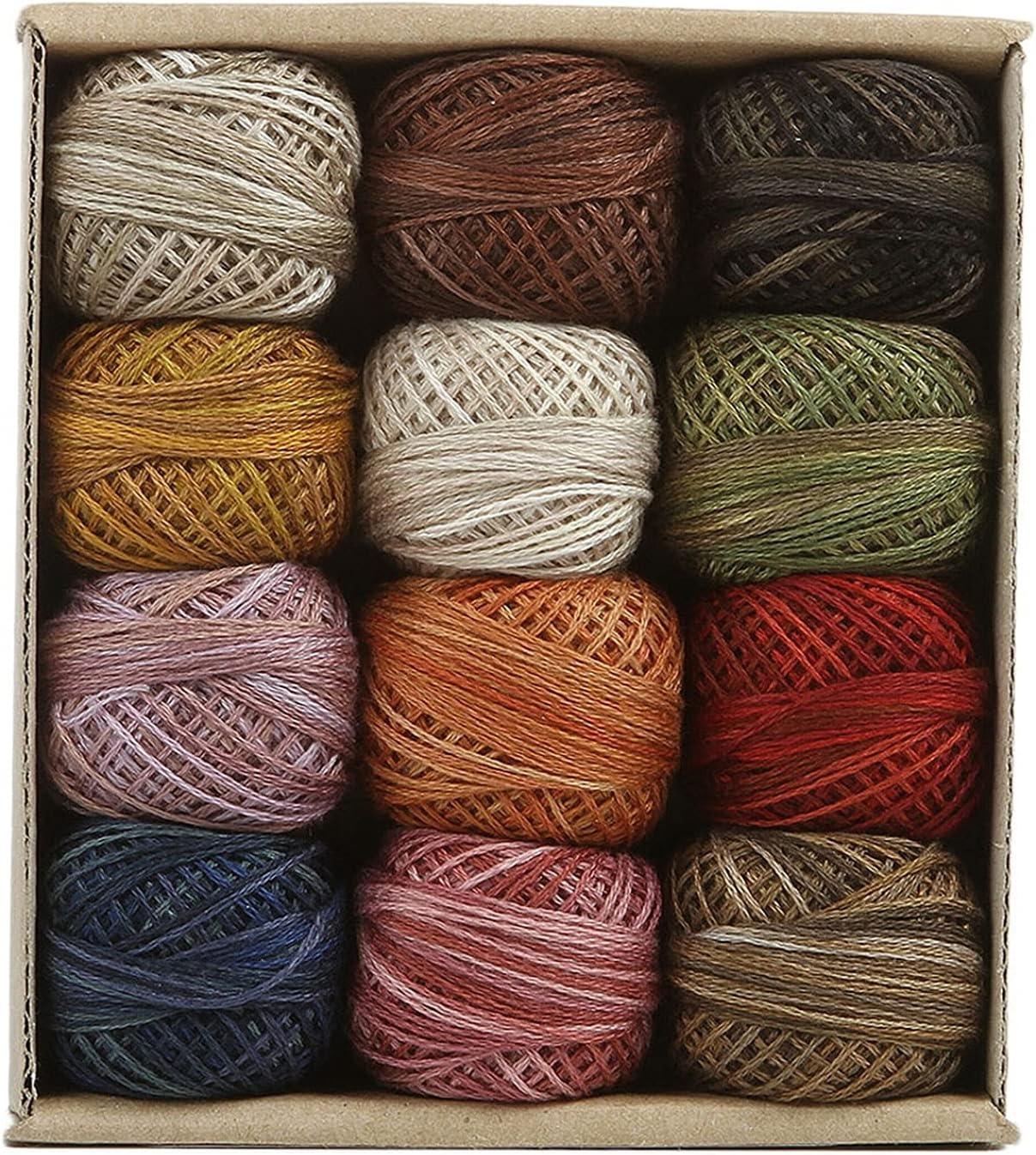Valdani 3-strand cotton floss - Sampler Vintage 2021 spring and summer Max 54% OFF new J. Hues Paton