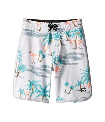 Billabong Kids 73 Lineup LT Boardshorts (Big Kids) (Grey) Boy