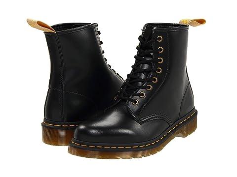 Dr. Martens 1460 Vegan 8-Eye Boot Unisex Black F618391BL Boots