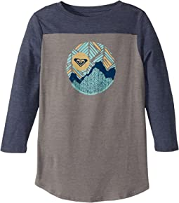 Roxy Kids - Snow Cap Football Tee (Big Kids)