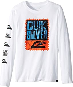 Quiksilver Kids - Awaken the Vibe Long Sleeve Shirt (Big Kids)