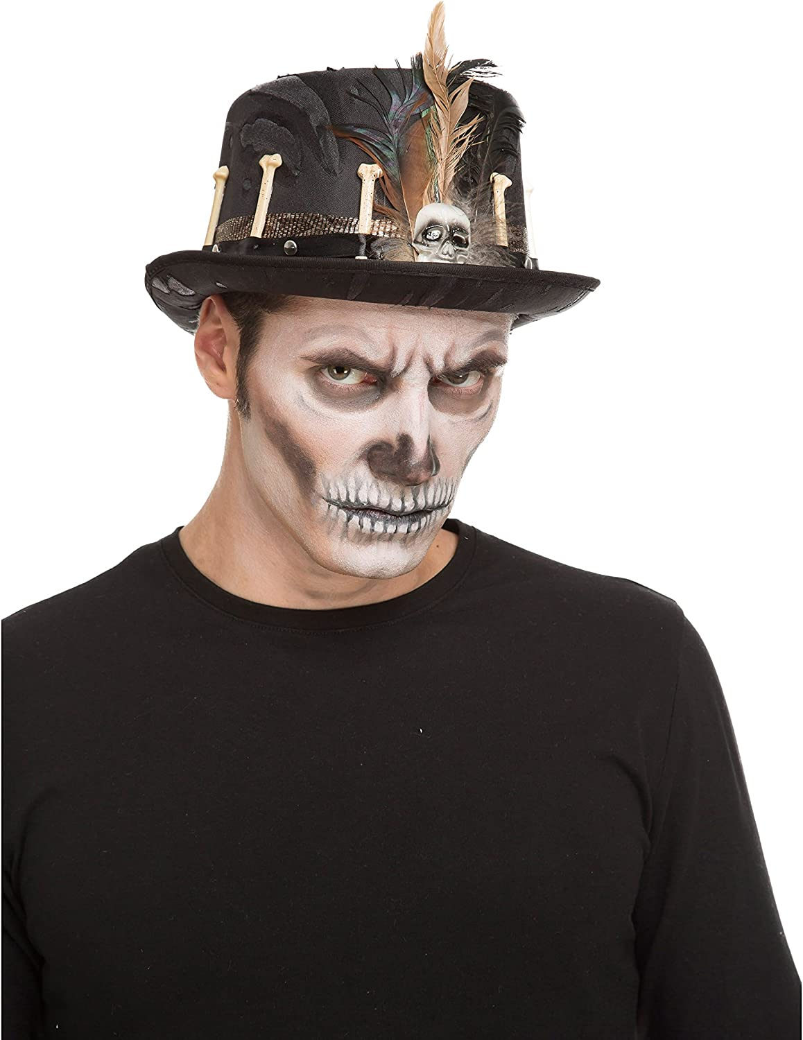 Desconocido My Other Me-204613 Chistera voodoo, Talla única (Viving Costumes 204613)