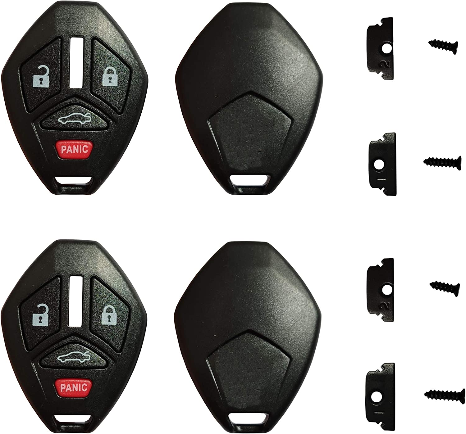 Key Shell Replacement Popular brand for Keyless New sales Entry Case with Fob Remote