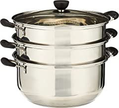 GMI 181SP15189 Stainless Steel 3 Layers Steamer Pot 30Cm