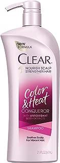 Clear Shampoo with Pump, Color and Heat Conqueror 21.9 oz