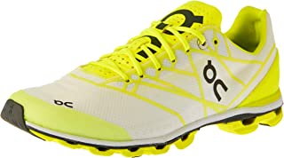 On Women's Cloudflash Running Shoes, White/Lime