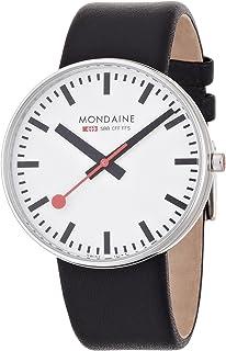Mondaine 瑞士国铁表 瑞士品牌 大表面 石英腕表 A660.30328.11SBB