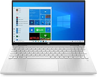 HP Pavilion x360 Laptop, 14 Inch Full HD IPS Touchscreen (250 Nits), Core i5-1135G7 quad, 8GB RAM, 256GB SSD, Windows 10, ...