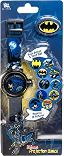 DC Comics Boys' Quartz Watch with Plastic Strap, Black, 15 (Model: BAT4010AZ)