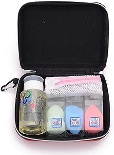 Store2508 Makeup Beauty Blender Puff Sponge Set with 3 Blenders, Blender Cleaner Solution, Drying Bag & Storage Box