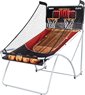 ESPN 2 Player EZ-Fold Arcade Basketball Game with LED Scoring (Renewed)