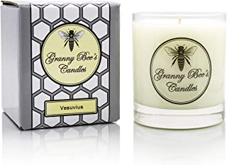 Granny Bee Orange, Lemon and Lime Tropical Citrus Scented Candle: Vesuvius - Juicy Orange Candle Scent in Natural Soy - Ha...