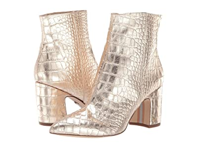 Sam Edelman Hilty 2 (Gold Mara Metallic Croco Leather) Women