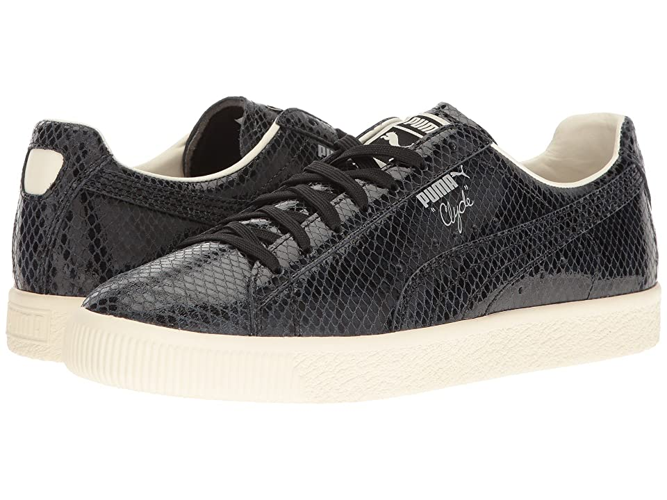 PUMA Clyde Snake (Puma Black/Whisper White) Men
