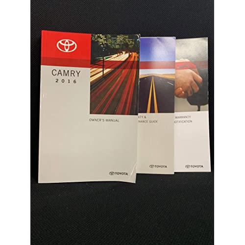 2015 Toyota Camry Owners Manual book