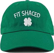 Funky Junque Irish Shamrock St. Patrick's Day Baseball Cap Unconstructed Dad Hat