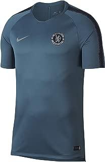 Nike 2018-2019 Chelsea Training Football Soccer T-Shirt Jersey (Teal)