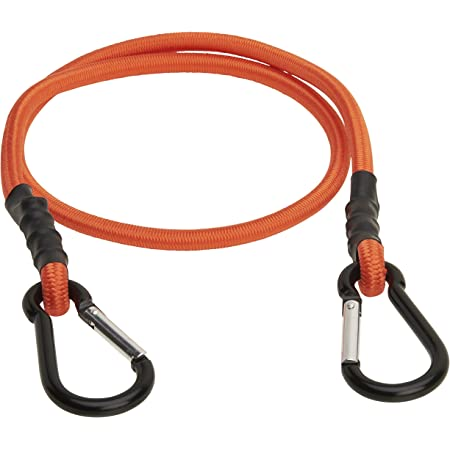 35.5 Heavy Duty Bungee Cord with Carabiner Clips 90cm