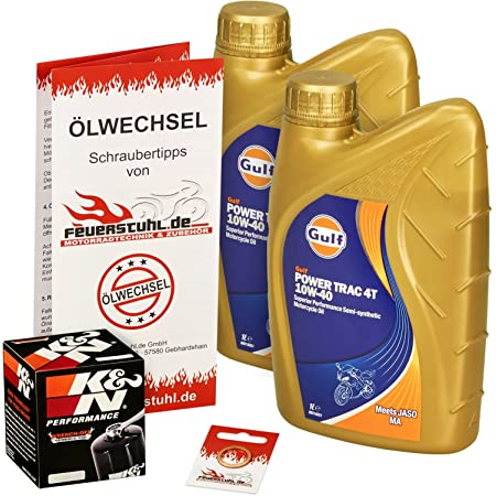 Ölwechselset Motul 5000 10 W 40 Oil K N Oil Filter For Yamaha Raptor 660 R Bj 01 05 Type Am01 W Engine Oil Filter And Seal Ring Auto