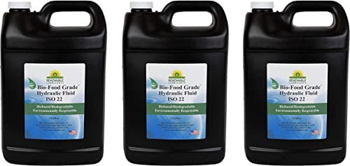 high quality Renewable Lubricants 87103 Food high quality Grade Hydraulic Oil, 1 gal, online yellow (Three Pack) online