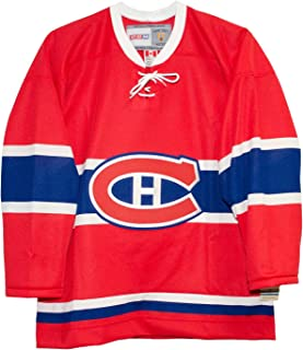 CCM Montreal Canadiens 1955 Red Vintage Hockey Jersey