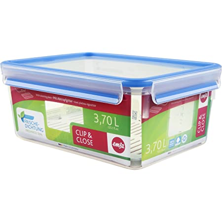 Frischhaltedose Clip/&Close rechteckig 2,3 L Vorratsdose Dose Behälter Kunststoff