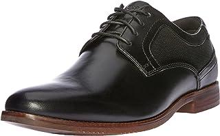ROCKPORT Men's M Style Purpose Perf Plain Toe Uniform Dress Shoes, Black (Black), 9.5 AU