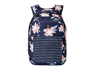 Roxy Here You Are Backpack (Mood Indigo Tandem) Backpack Bags