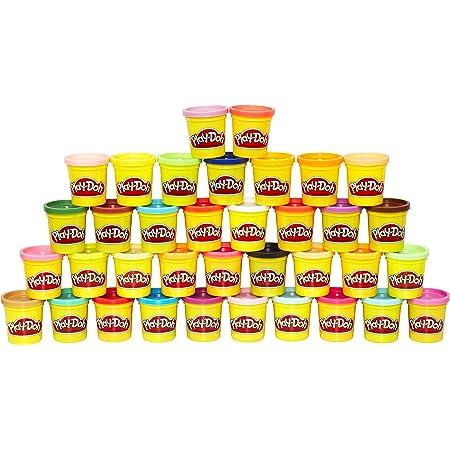 Hasbro Play-Doh - Mega Pack da 36 Vasetti, 36834F02