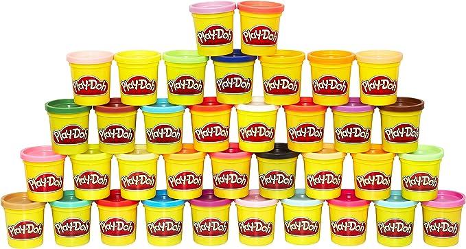 9801 opinioni per Hasbro Play-Doh- Mega Pack da 36 Vasetti, 36834F02