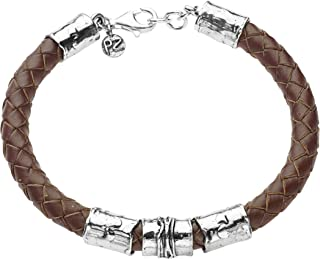 """PZ Paz Creations 925 Sterling Silver Bracelet For Men 
