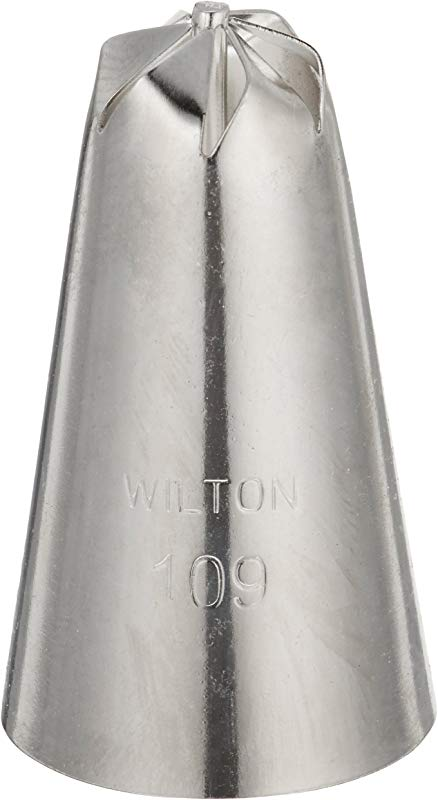 Wilton 402 109 Drop Flower Decorating Tip