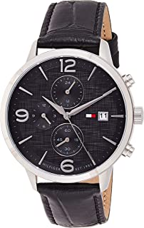 Tommy Hilfiger Casual Watch For Men Analog Genuine Leather - 1710361