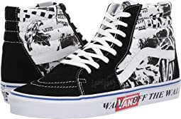 (Lady Vans) Black/True White