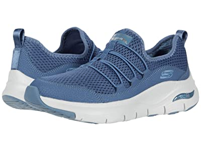 SKECHERS Arch Fit Lucky Tho (Navy) Women