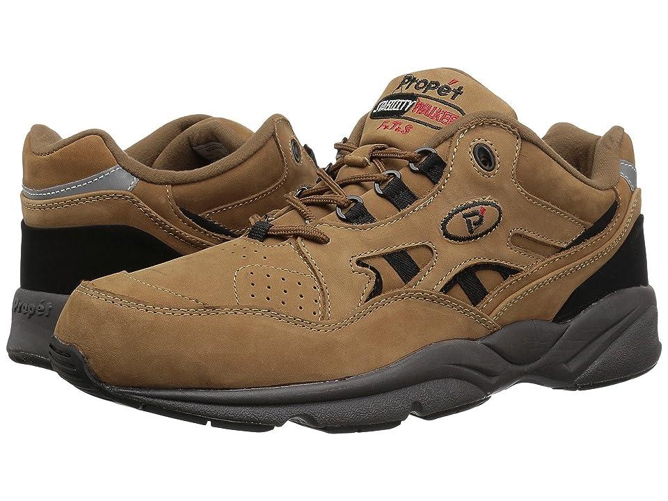 Propet Stability Walker Medicare/HCPCS Code = A5500 Diabetic Shoe (Chocolate/Brown Nubuck) Men
