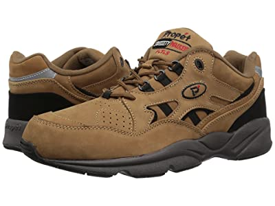 Propet Stability Walker Medicare/HCPCS Code = A5500 Diabetic Shoe (Chocolate/Brown Nubuck) Men