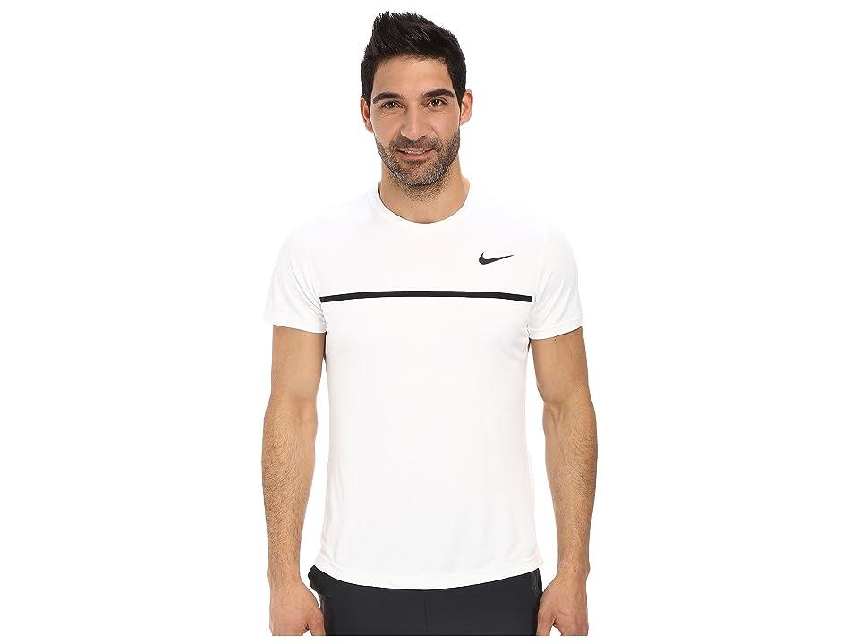 Nike Challenger Crew (White/White/Black/Black) Men