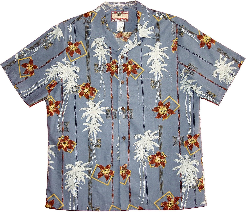 RJC Mens Vertical Island Patterns Shirt