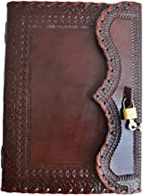 Genuine Leather Journal Vintage Antique Style Organizer Blank Notebook Secret Diary Daily Journal Personal Diary